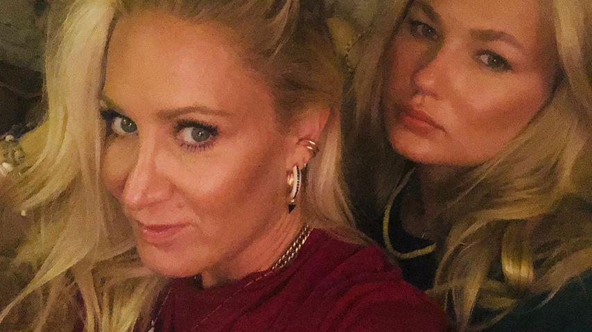 Janine Kunze mit ihrer Tochter Lili im August 2020