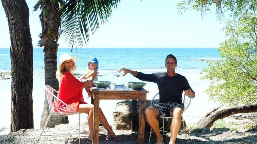 Janni Hönscheid, Emil-Ocean und Peer Kusmagk in Costa Rica