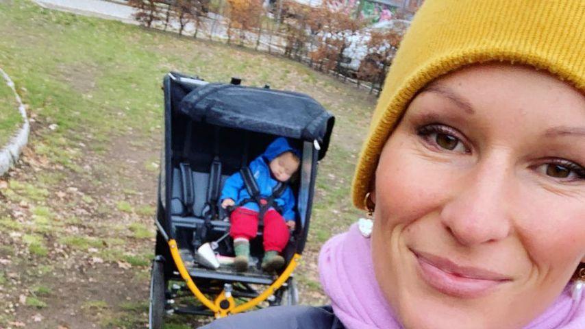 Janni Kusmagk (r.) mit Sohn Emil-Ocean