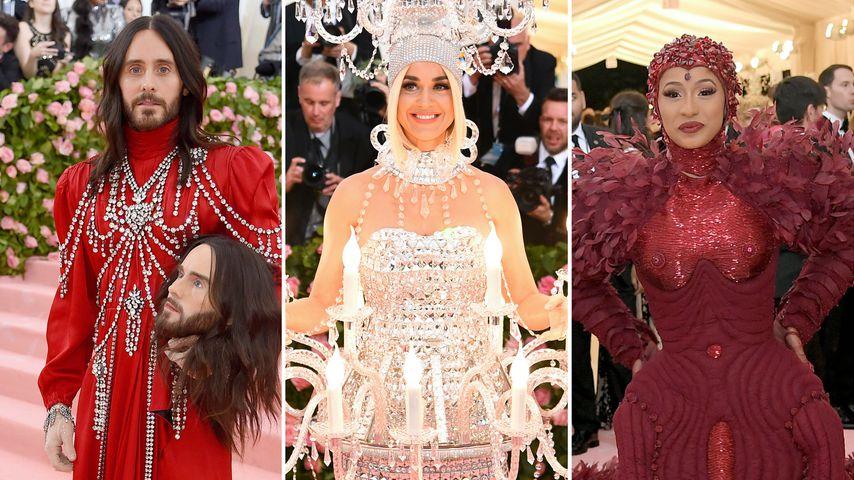Met Gala 2019: Die 15 krassesten Red-Carpet-Looks der Promis