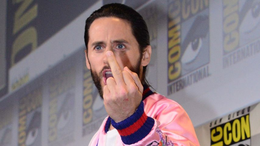 Wütender Jared Leto: Warum zeigt er denn den Stinkefinger?