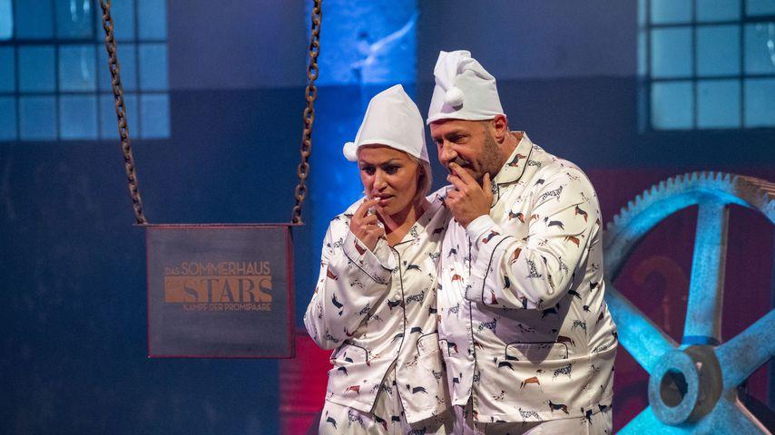 """Jasmin und Willi Herren bei """"Das Sommerhaus der Stars"""""""