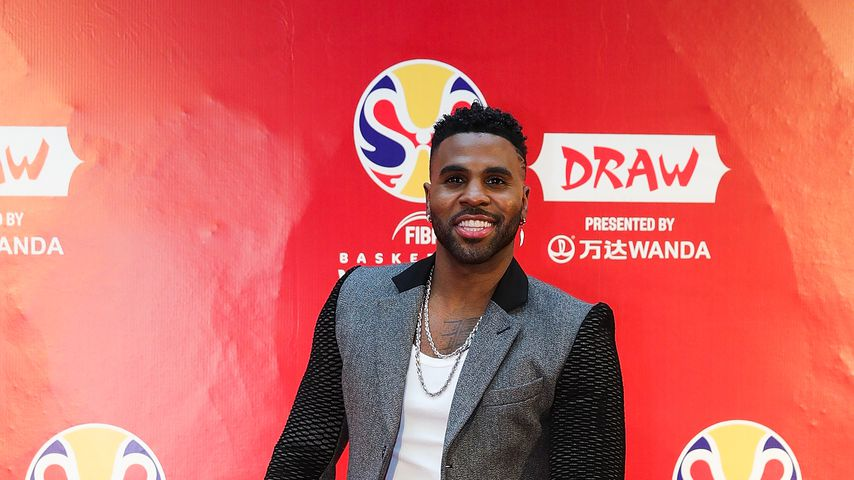 Jason Derulo beim Fiba Basketball World Cup 2019
