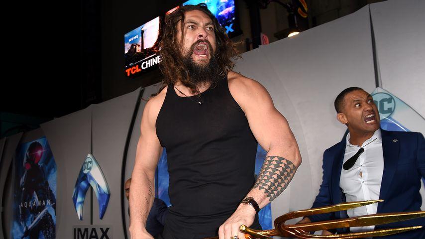 "Jason Momoa  bei der ""Aquaman""-Premiere in Los Angeles"