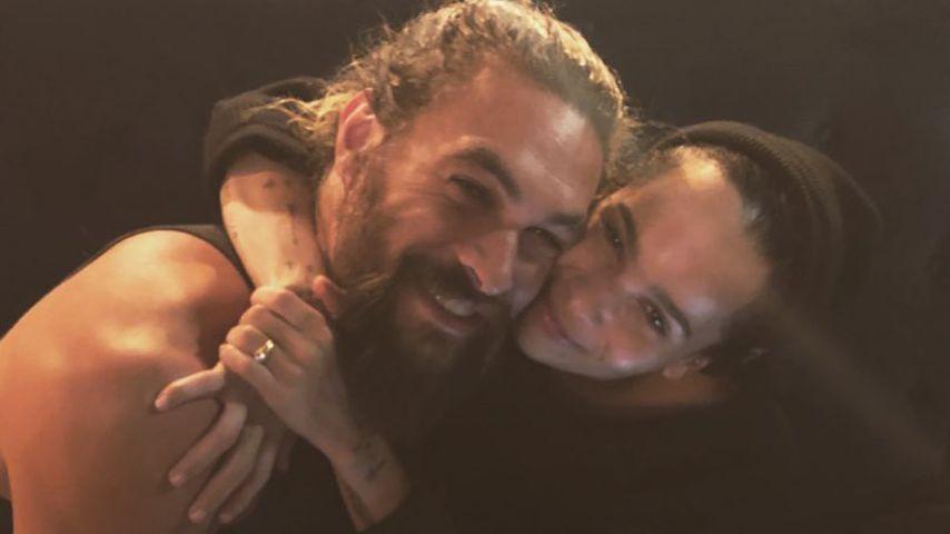 Jason Momoa und Zoe Kravitz