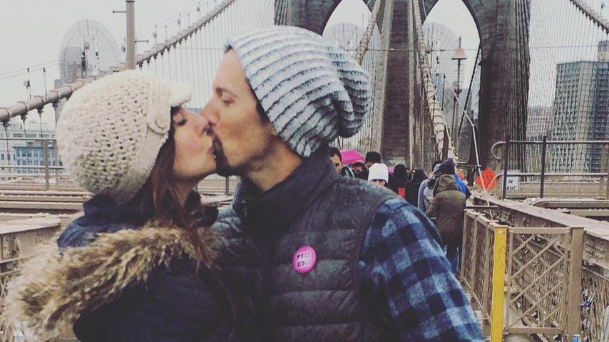 Jason Mraz und seine Frau Christina