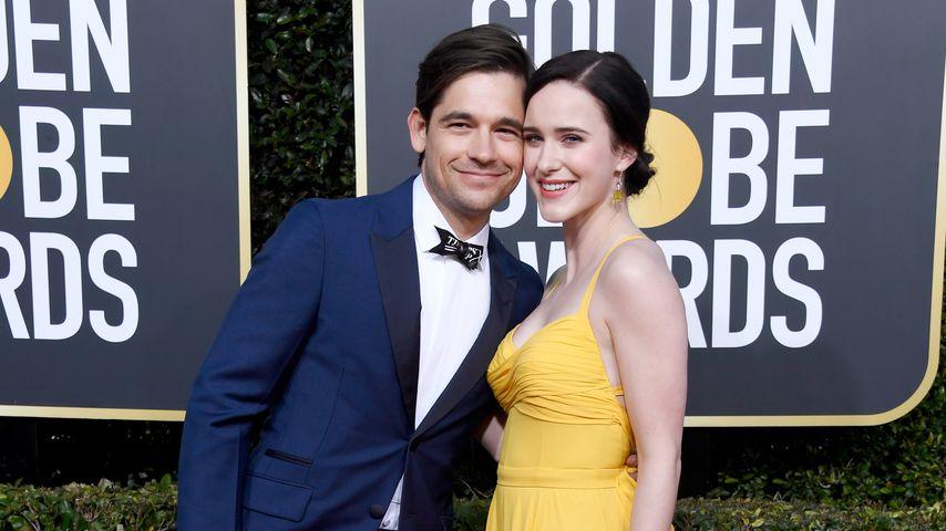 Jason Ralph und Rachel Brosnahan bei den Golden Globes 2019