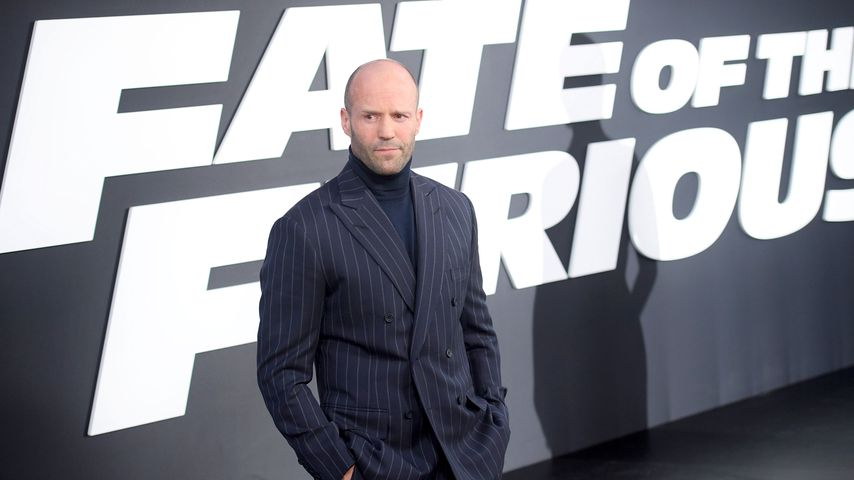 "Jason Statham bei der Premiere von ""The Fate of the Furious"" in New York"