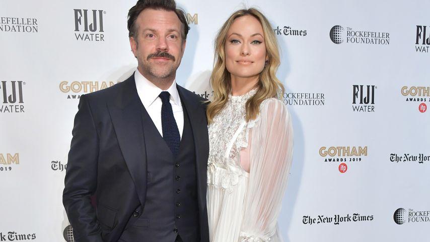 Jason Sudeikis und Olivia Wilde bei den Gotham Awards in NYC im Dezember 2019