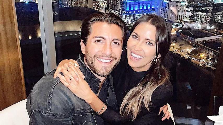 Ex-US-Bachelorette Kaitlyn Bristowe mit ihrem Partner Jason Tartick
