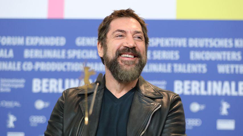 Javier Bardem bei einer Pressekonferenz