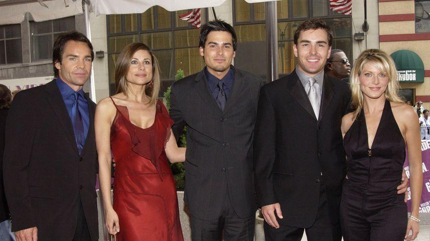 Jay Pickett, Marie Wilson, Eddie Matos, Nolan North und Jill Murray im Mai 2002