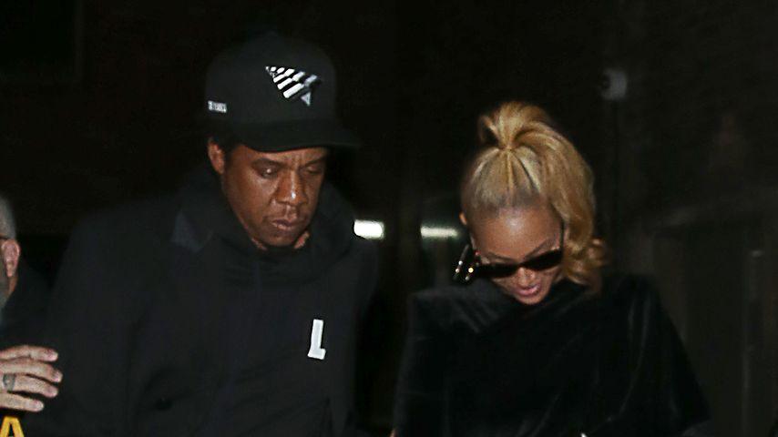 Jay-Z und Beyoncé in London 2018