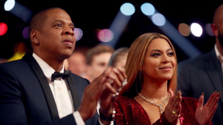 Jay-Z und Beyoncé bei den Grammy Awards 2017