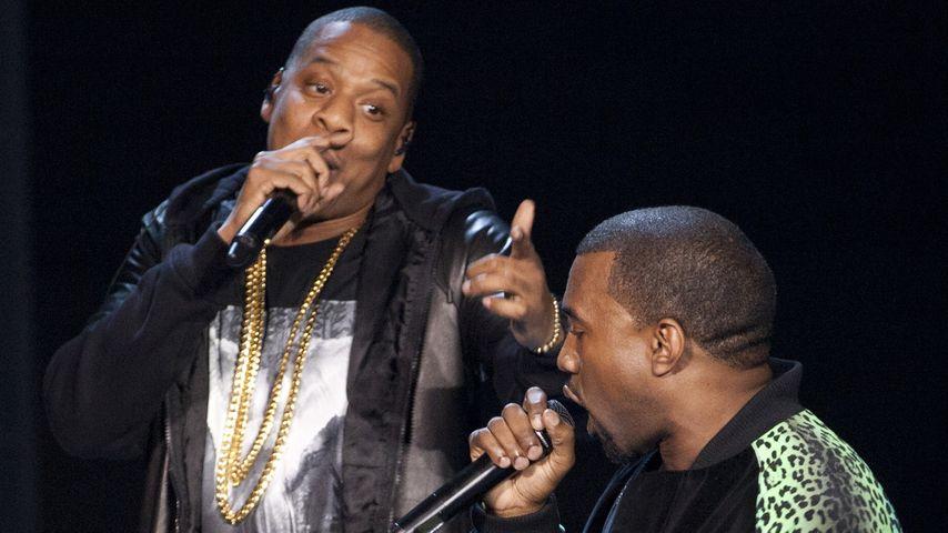"""Völlig überzogen!"": Jay-Z lacht über Kimye-Heirat"