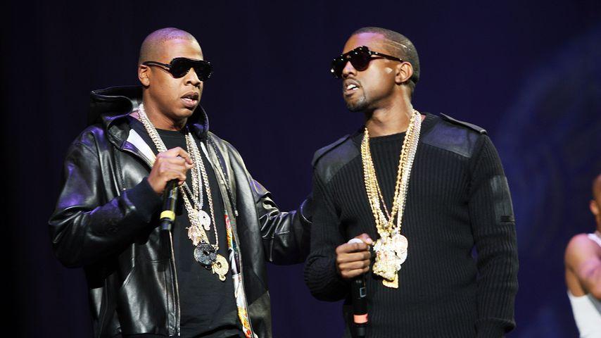 Jay-Z und Kanye West im Jahr 2007