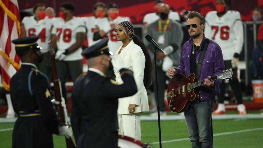 Nationalhymne als Country-Song: Super-Bowl-Fans sind genervt
