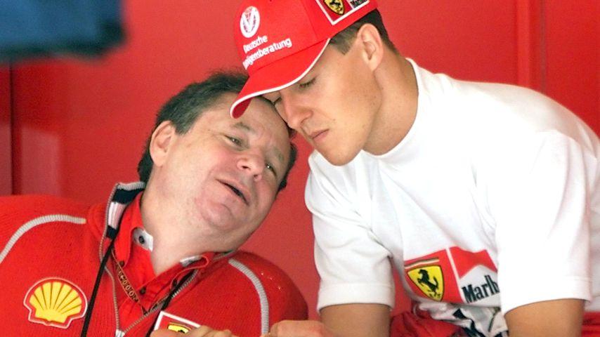 Jean Todt und Michael Schumacher, Mai 2000