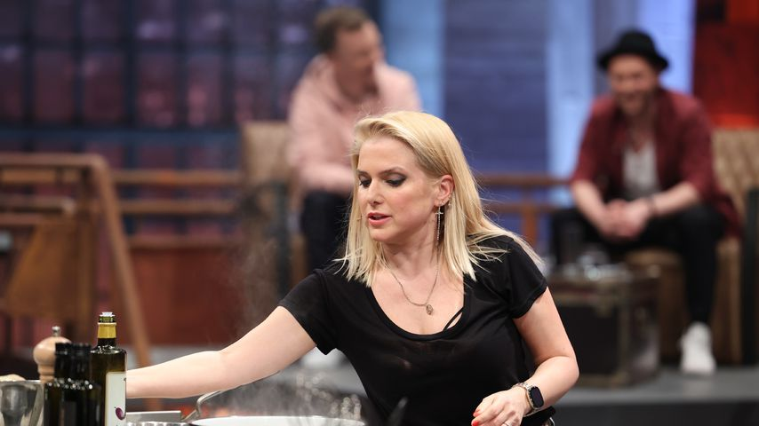 "Jeanette Biedermann bei ""Grill den Henssler"""