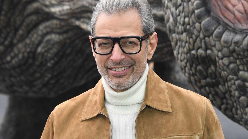 """Jeff Goldblum bei einem Fototermin für """"Jurassic World: Fallen Kingdom"""" in London"""