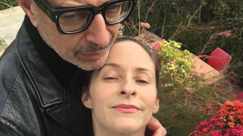 Jeff Goldblum mit seiner Frau Emilie