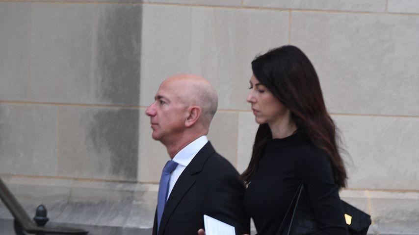 Jeff und MacKenzie Bezos, September 2018