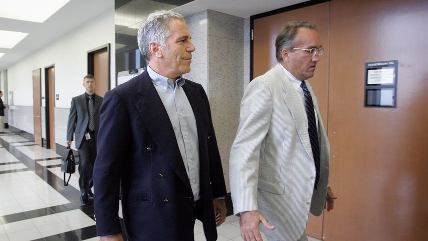 Jeffrey Epstein im Juni 2008