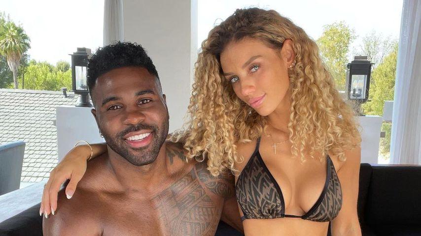 Jason Derulo und seine Freundin Jena Frumes im Juli 2021