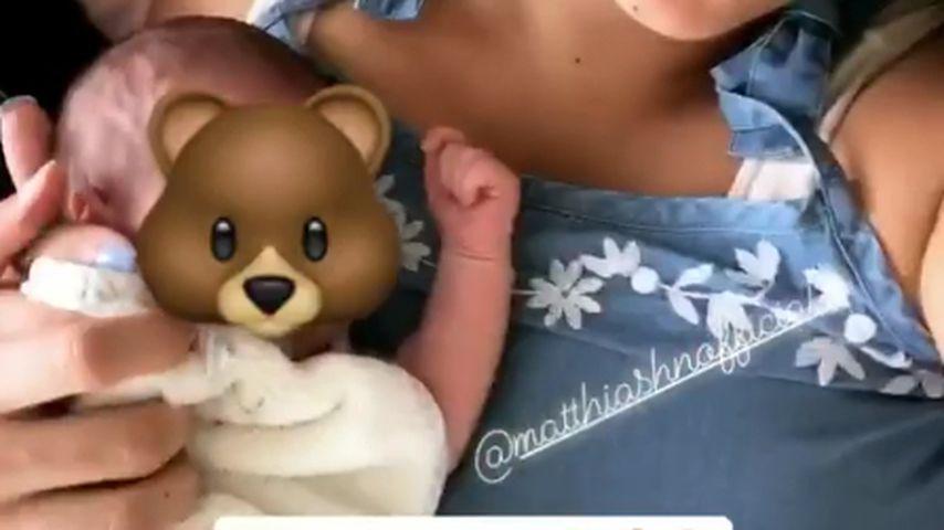 Erste Infos: BTN-Matze & Jenefer mit Baby zu Hause & kaputt!