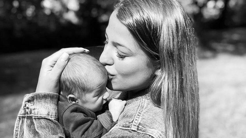 Stolze Mama: BTN-Jenefer zeigt Gesicht von Söhnchen Milan!