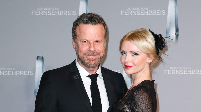 Jenke von Wilmsdorff mit Mia beim Deutschen Fernsehpreis 2016