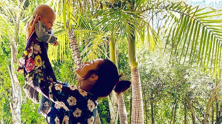 Jenna Dewan mit ihrem Sohn Callum, April 2020