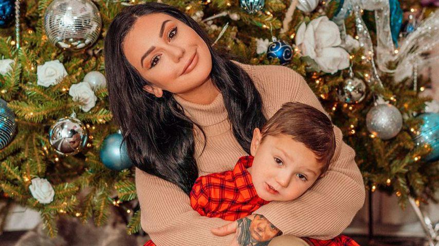 Jenni Farley und ihr Sohn Greyson