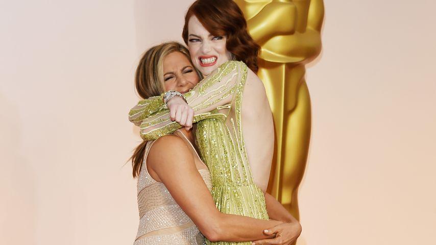 Jennifer Aniston und Emma Stone