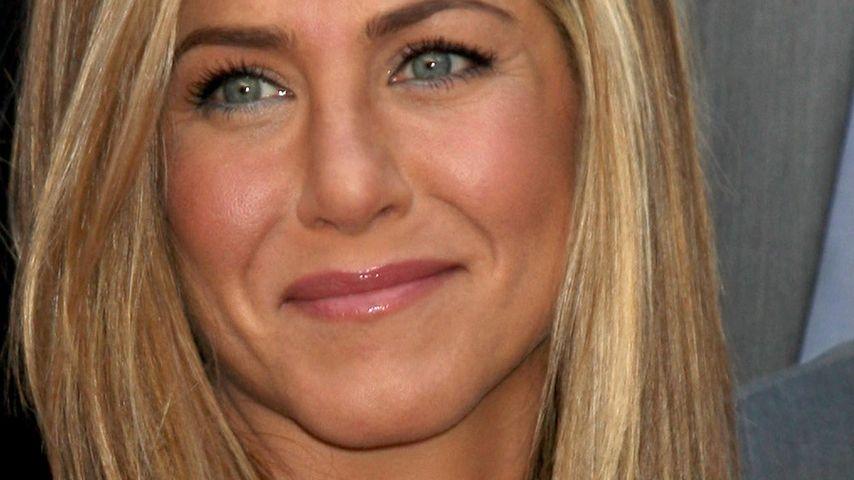 Jennifer Aniston: Schwanger sitzen gelassen?