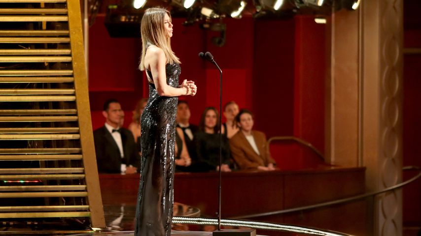 Jennifer Aniston auf der Oscar-Bühne