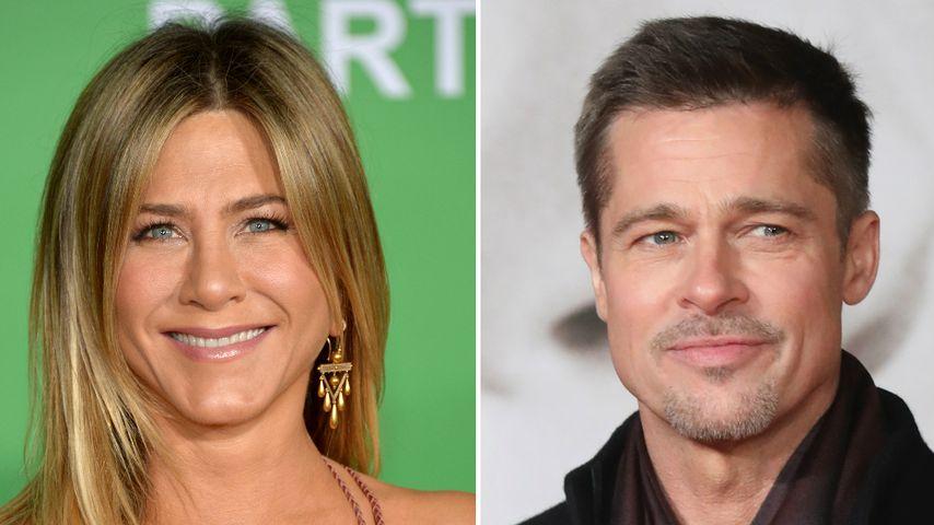Jennifer Aniston: Zum ersten Mal Brad Pitts Kids getroffen!