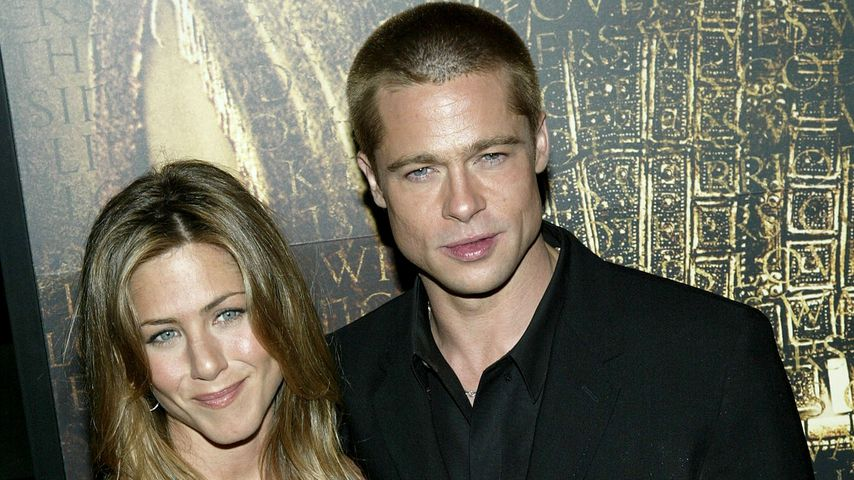 Jennifer Aniston und Brad Pitt in New York, 2004