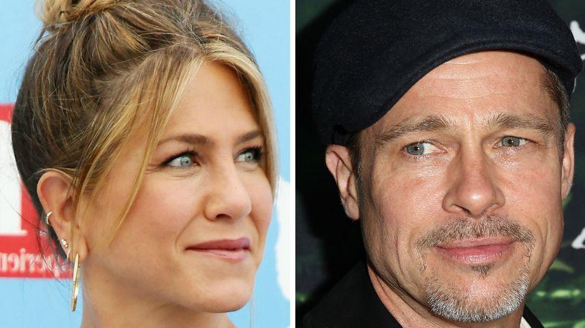 US-Medien: Jen Aniston & Brad Pitt bald wieder ein Paar?
