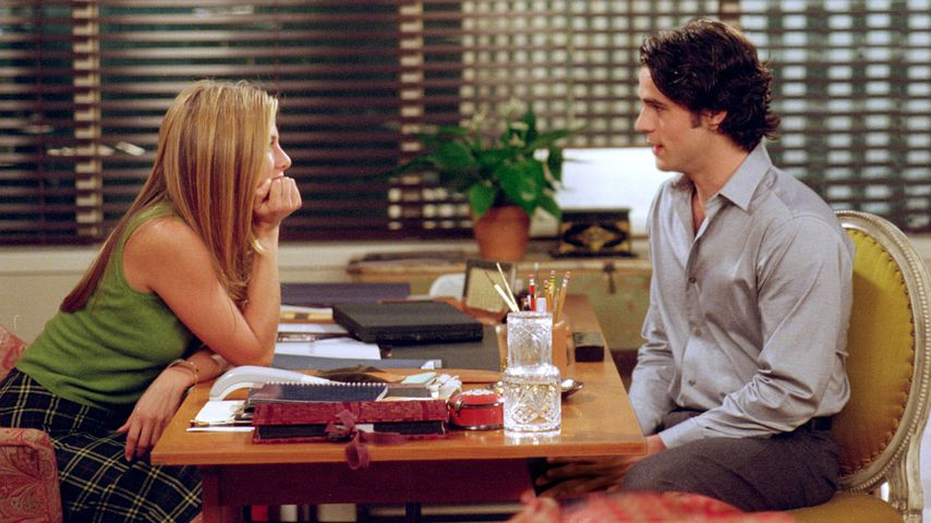 "Jennifer Aniston und Eddie Cahill in ""Friends"""