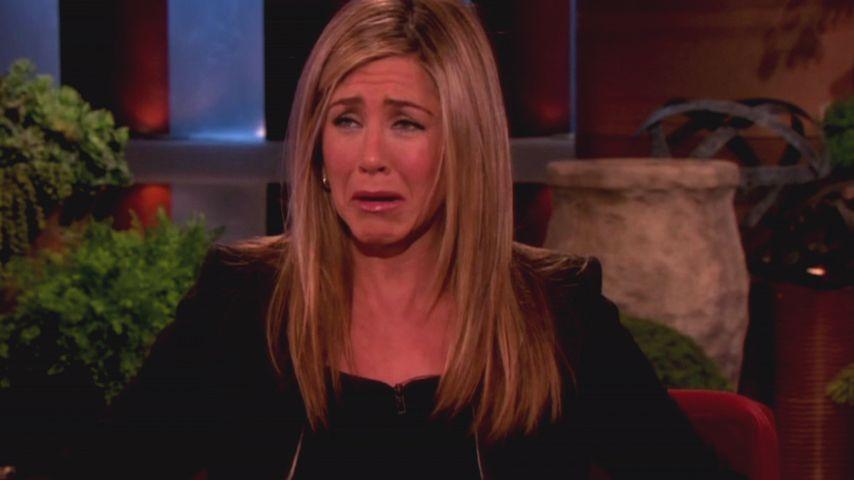 Aua! Jennifer Anistons Verlobter bricht ihren Zeh