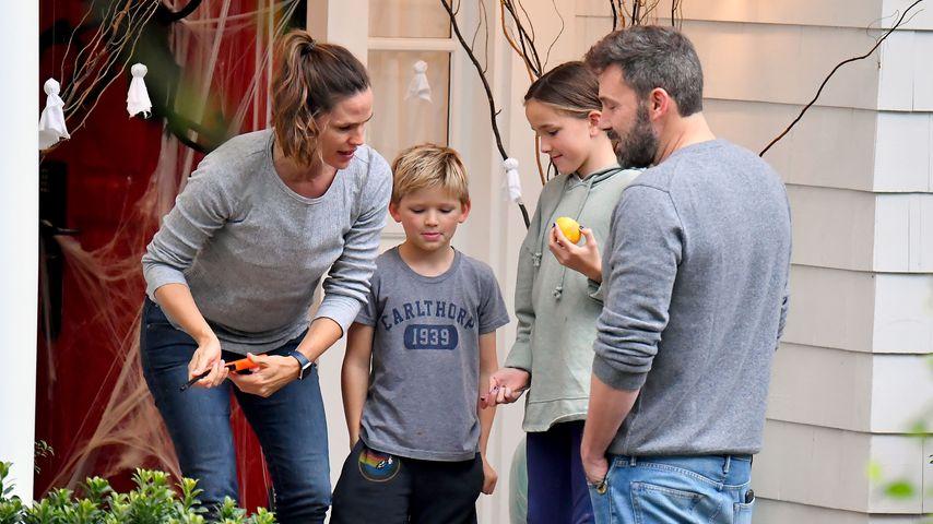 Jennifer Garner und Ben Affleck mit ihren Kids