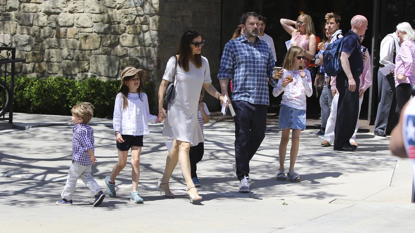 Jennifer Garner und Ben Affleck mit ihren Kindern