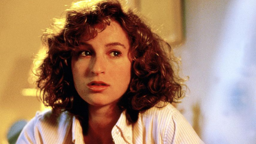 "Jennifer Grey am Set von ""Dirty Dancing"""
