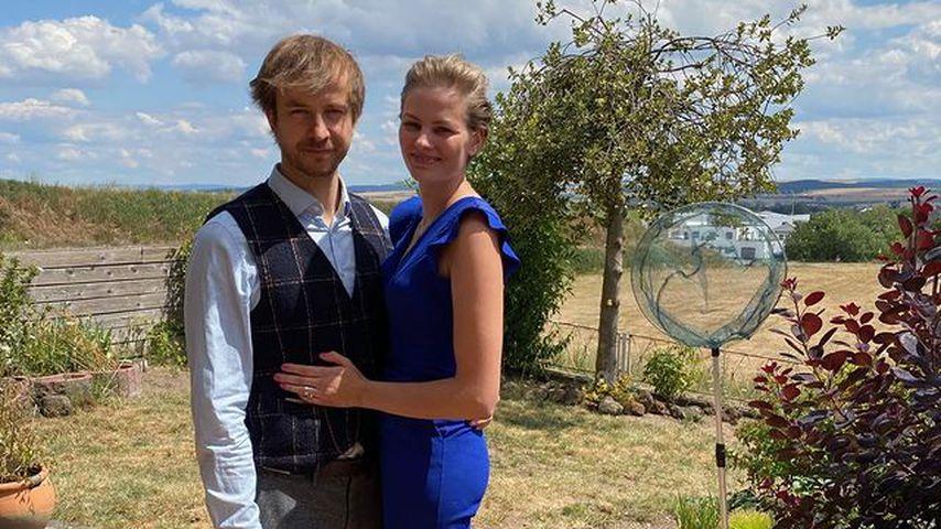 Jennifer Hof mit ihrem Mann