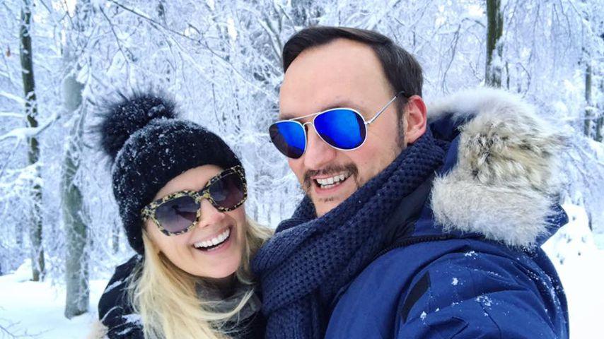 Jennifer Knäble und Felix Moese im Urlaub