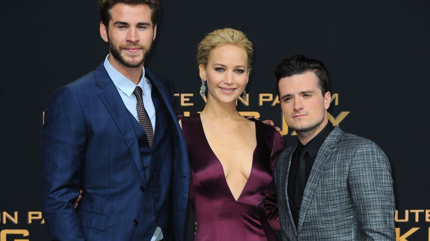 Jennifer Lawrence, Chris Hemsworth und Josh Hutcherson