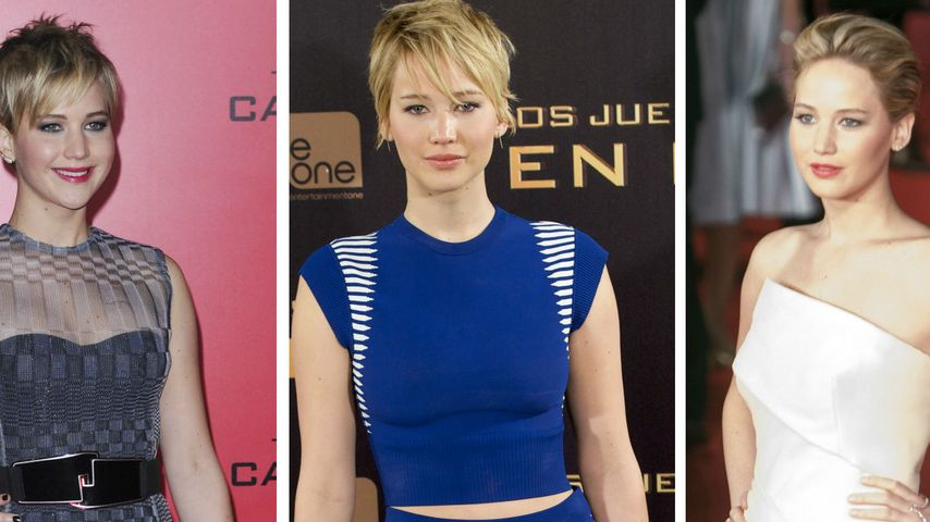 So stylish war Jennifer Lawrence auf den Premieren