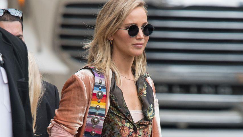 "Jennifer Lawrence auf dem Weg zu ""Jimmy Kimmel Live!"""