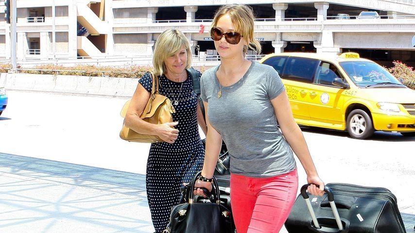 Jennifer Lawrence: Ganz relaxt wie ihre Mama